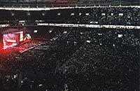 В «Лужниках» – первый концерт после реконструкции. Теперь там не только спорт и митинги