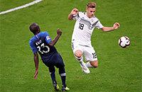Немцы забили впервые за 4 с лишним часа. Но Франция уже впереди