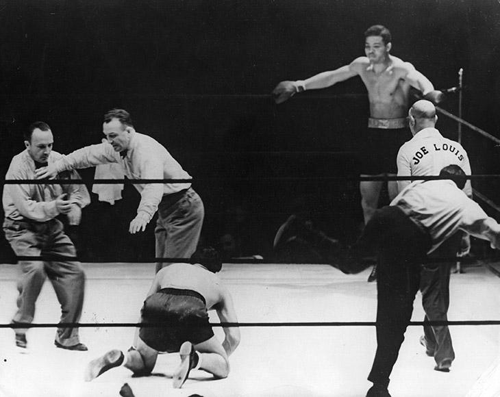 Бой Макса Шмелинга и Джо Луиса, 1938 год