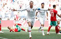 Португалия – Марокко. Роналду уже забил