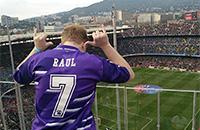 Барселона, Реал Мадрид, Серхио Рамос, примера Испания, болельщики, Камп Ноу