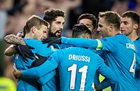 Зенит, Русенборг, болельщики, Лига Европы УЕФА
