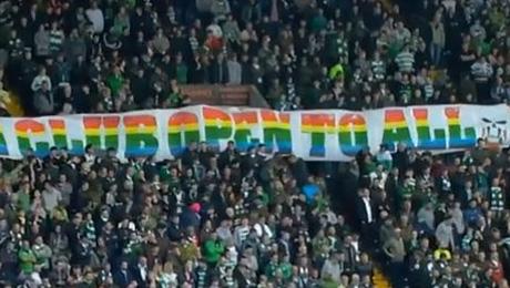 Болельщики «Селтика» поддержали ЛГБТ-сообщество