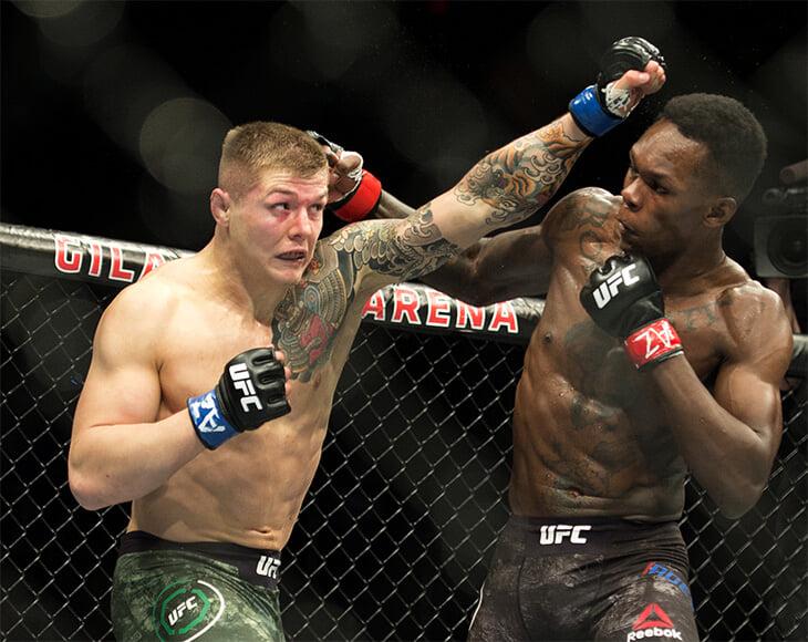 Адесанья максимально уверенно победил Веттори, Морено – новый чемпион, Нейт Диаз проиграл. Онлайн UFC 263