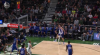 Giannis Antetokounmpo sets up the nice finish
