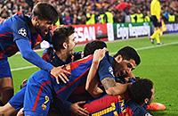 фото, ПСЖ, Лига чемпионов, Неймар, Серджи Роберто, Барселона