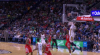 Anthony Davis goes up to get it and finishes the oop
