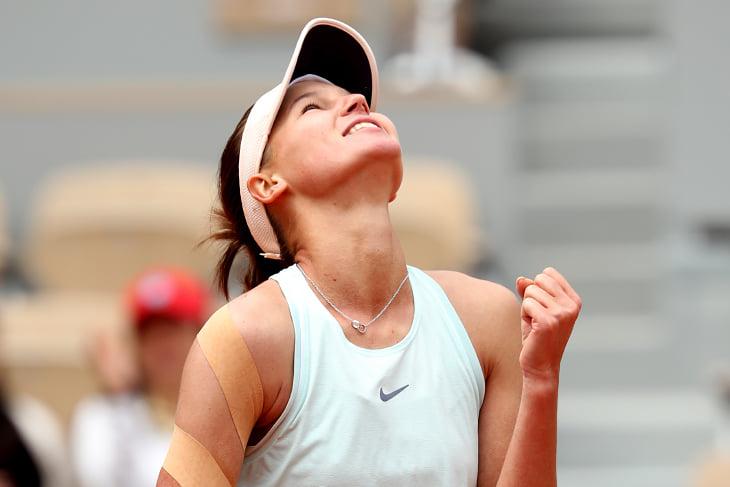 Кудерметова прорвалась на РГ: ее тренирует муж, который выводил Звонареву в финалы «Шлемов» и был моделью