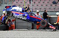 Брендон Хартли, Торо Россо, происшествия, Формула-1, Гран-при Испании