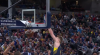 Domantas Sabonis with one of the day's best dunks