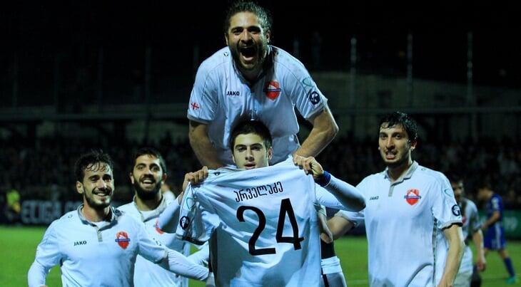 Они унизили «Динамо»: 5-е место в Грузии, худший рейтинг в ЛЕ