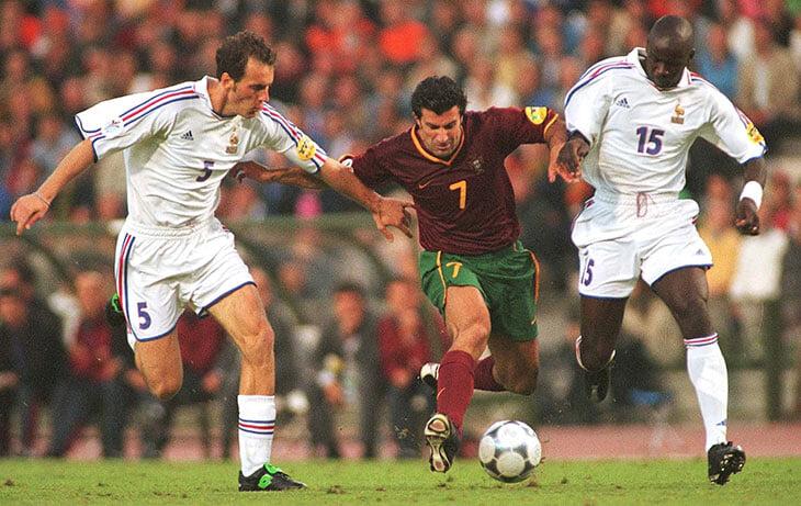 Франция – Португалия на Евро-2000: игру продавали как «Фигу против Зидана», Зизу провел великий матч (возможно, лучший в карьере)