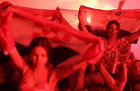 Хорватия вышла в финал – и Загреб сошел с ума