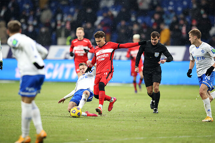 «Спартаку» поставили левый пенальти, но команда Тедеско играла плохо – новая схема вообще не сработала