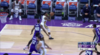 De'Aaron Fox with one of the day's best dunks