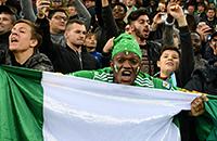 сборная Нигерии, фото, Краснодар, болельщики, товарищеские матчи (сборные), ЧМ-2018, стадион Краснодар, сборная Аргентины