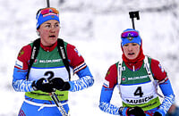 Онлайн индивидуальной гонки: Миронова и Юрлова в биатлонной классике