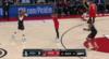 Hassan Whiteside Blocks in Portland Trail Blazers vs. Houston Rockets