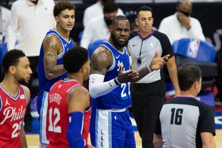 В матче лидеров НБА было все: камбэк, трипл-дабл, победный бросок и неожиданный герой. Но обсуждают только грубый фол Леброна