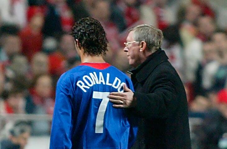 Фергюсон убедил Роналду вернуться в «МЮ». У них почти семейные отношения – Криш считает тренера «футбольным отцом»