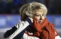 Татьяна Тарасова, телевидение, Василий Соловьев