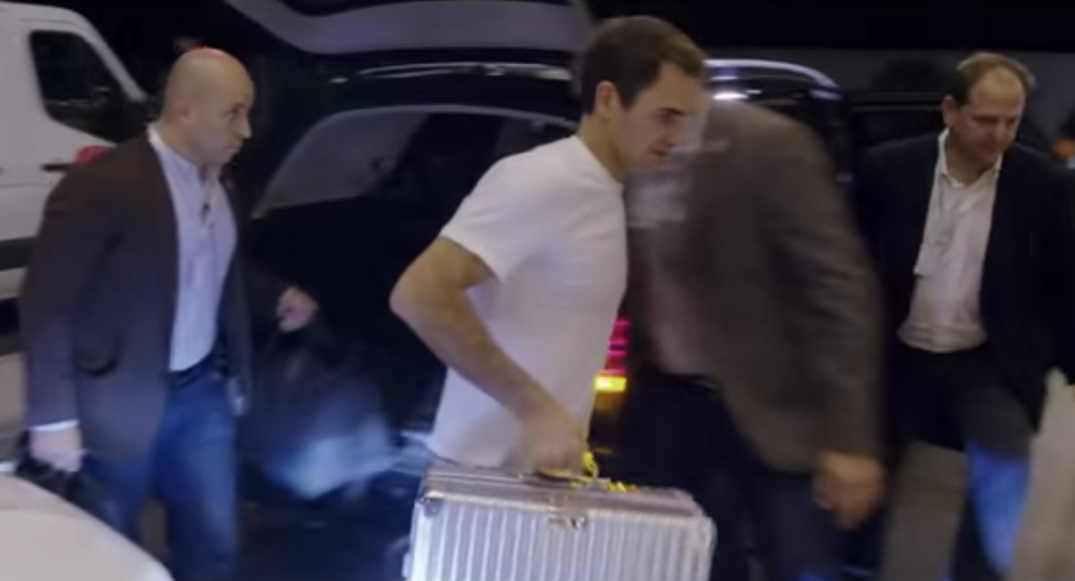 Федерер показал поездку в Латинскую Америку
