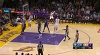 Brook Lopez with one of the day's best assists