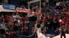 Anthony Davis sends the shot away