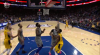 A great dime by Victor Oladipo leads to the score