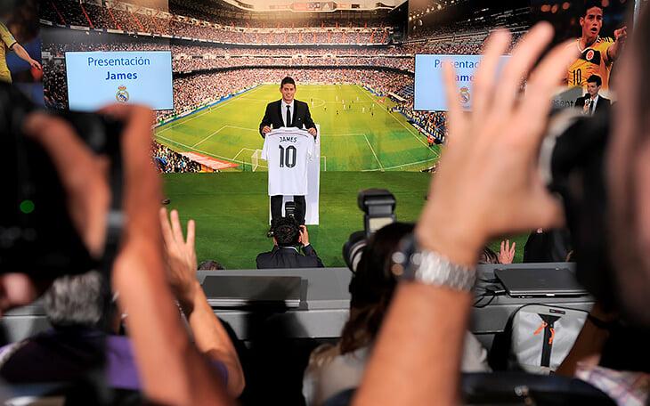 Хамес раскрутит бренд «Эвертона». Это один из самых медийных спортсменов мира, за ним придет вся Колумбия