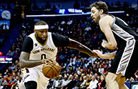 ДеМаркус Казинс, Новый Орлеан, НБА