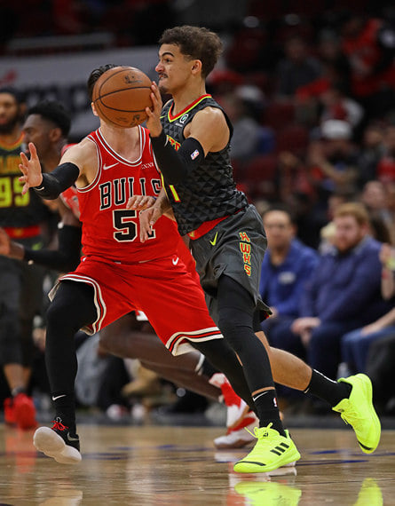 В НБА появился огненный коротышка. Его нельзя пропустить