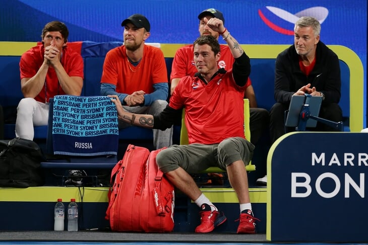 Сафин приехал на новый командный турнир капитаном России и опять украл шоу