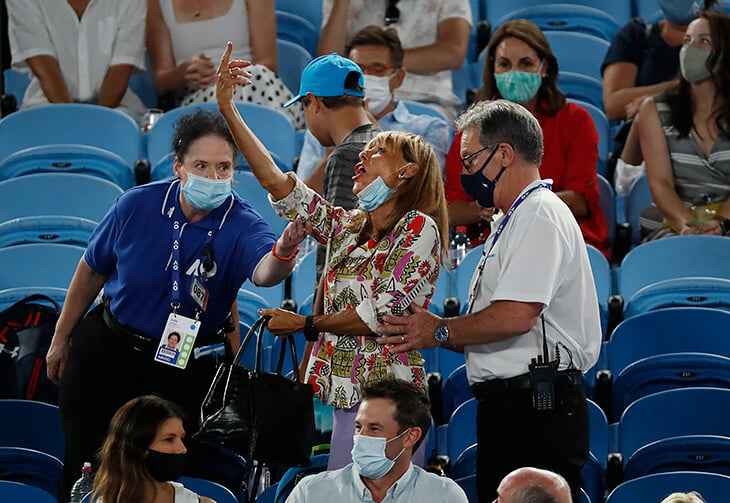Надалю показали средний палец с трибун Australian Open. Он смеялся как никогда