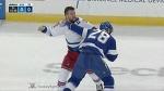 Tanner Glass vs Luke Witkowski Mar 6, 2017