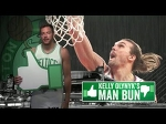 Kelly Olynyk's man bun