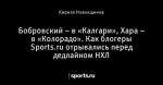 Бобровский – в «Калгари», Хара – в «Колорадо». Как блогеры Sports.ru отрывались перед дедлайном НХЛ