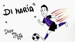 La historia de Di María | Draw My Life