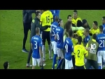 Neymar vs Carlos Bacca fight at end of Brazil vs Colombia 2015