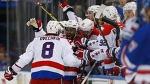 Победная шайба «Вашингтона» за секунду до конца матча с «Рейнджерс» - Айс-ТВ - Блоги - Sports.ru