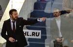 Тренер «Магнитки» Илья Воробьев побрился наполовину в честь победы в Кубке Гагарина