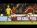 Another angle: Eric Lichaj's first goal for Nottingham Forest