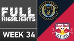 HIGHLIGHTS | Philadelphia Union vs. New York Red Bulls