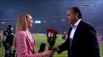 Miodrag Grof Božović poklonio cveće voditeljki / FK Crvena Zvezda - FK Radnički / 21.5.2016
