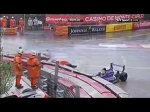 Eurocup Formula Renault 2.0 2016. Circuit de Monaco. Multi Car Crash & Red Flag