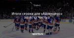 Итоги сезона для «Айлендерс» 2016/17 Часть 2