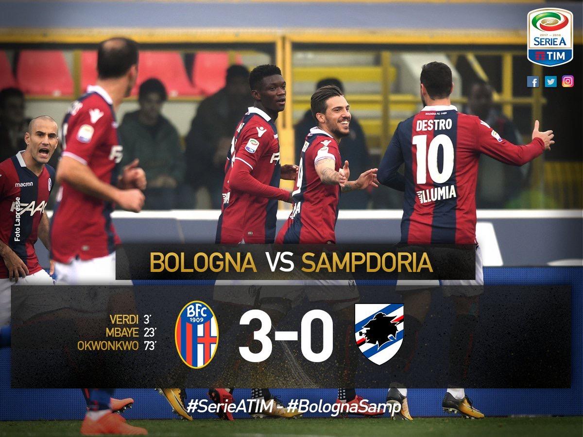 Сампдория – Болонья. Прогноз матча чемпионата Италии