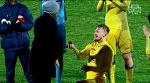 Новосельцев делает предложение Катерине Кейру после матча