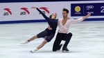 Papadakis & Cizeron Free Dance 119.33 WORLD RECORD Cup of China 2017 Eurosp.English