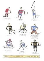 Легенды НХЛ. Карикатура - Был такой хоккей - Блоги - Sports.ru